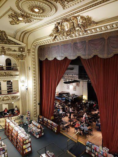 Café Ateneo Grand Splendid Cinco librerías más hermosas del mundo