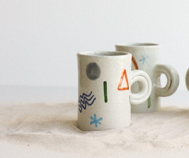 Taza Aguaviva 1 Proyectos mexicanos de cerámica y alfarería