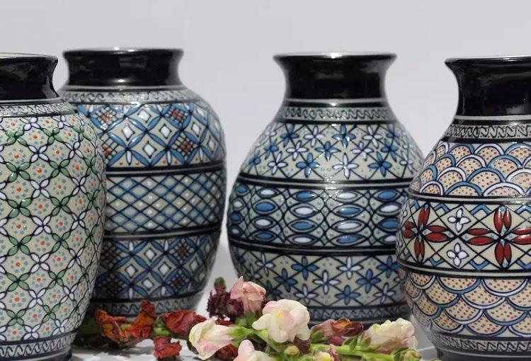 jarrones cerámica servín