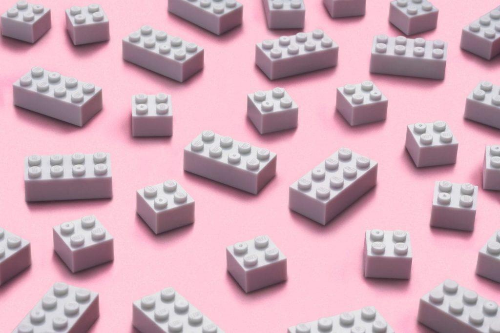 lego plástico reciclado